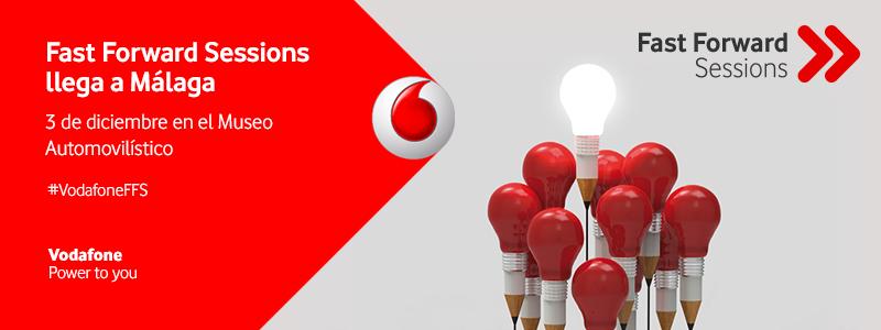 Fast Forward Sessions de Vodafone llega al Museo Automovilístico de Málaga