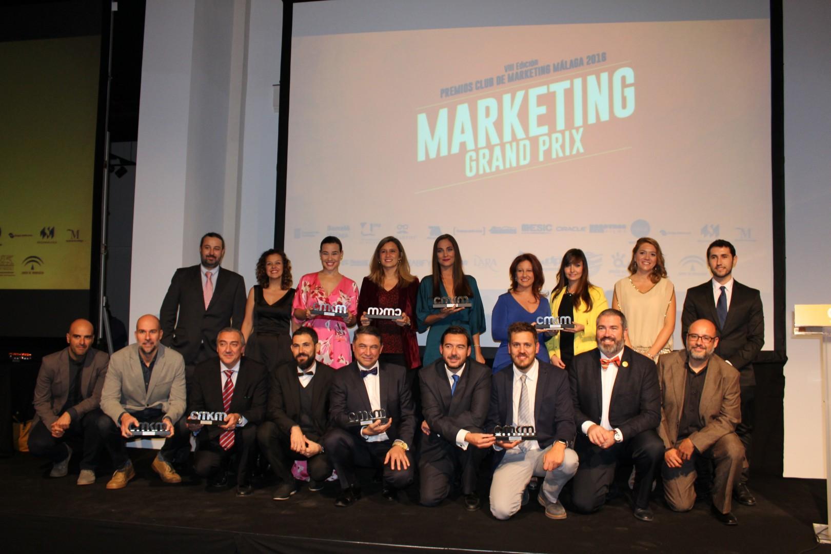 El Museo Automovilístico y de la Moda de la Málaga acoge la VIII Edición de los Premios CMKM bajo el lema Marketing Grand Prix