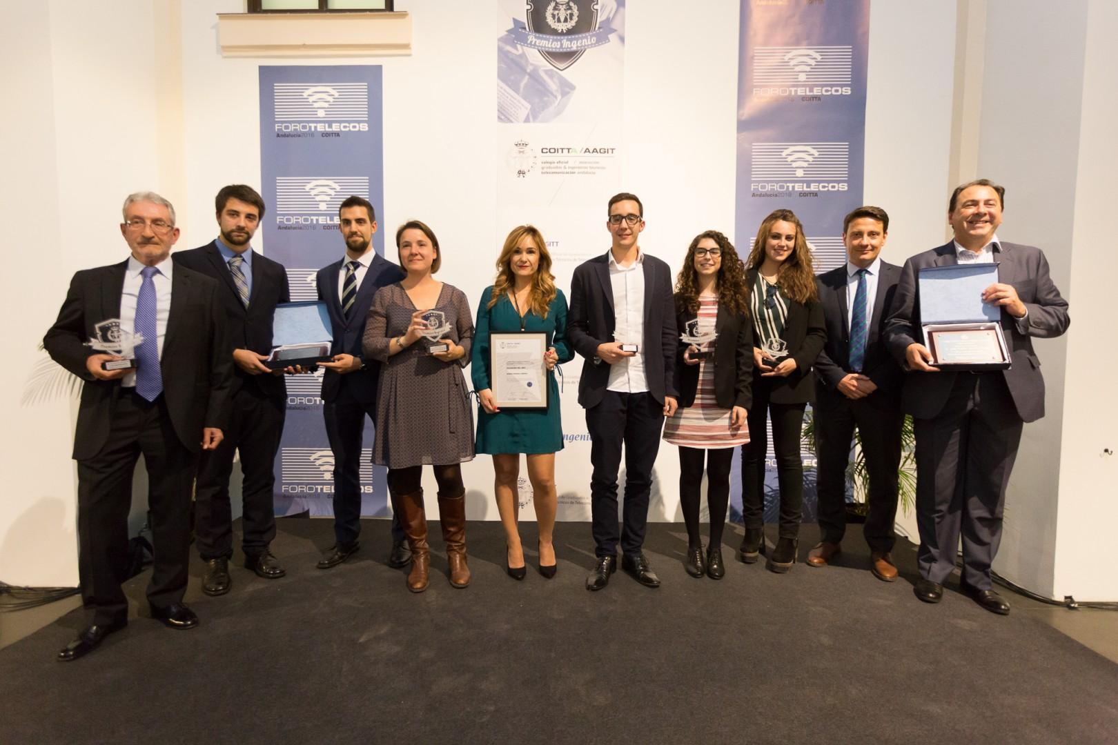 Entrega de los Premios Ingenio 2016 en el MAM