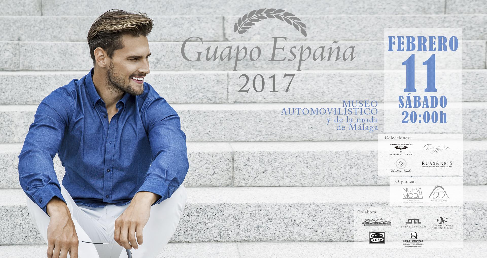 El MAM acogerá la gala Guapo España el próximo sábado, 11 de febrero ¡VENTA ENTRADAS ONLINE!