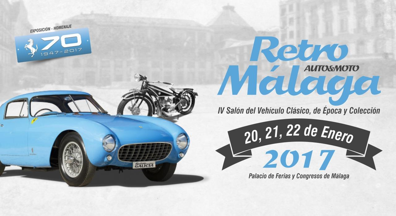 El Museo Automovilístico y de la Moda colabora en la IV Edición de Retro Málaga