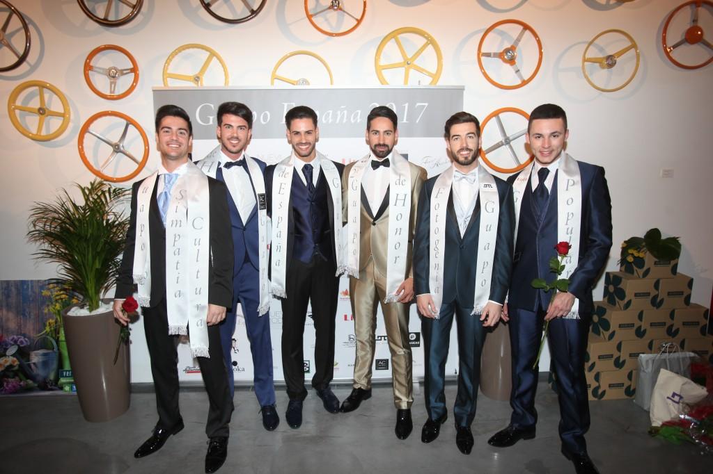 El madrileño Asraf Beno gana el certamen de modelos 'Guapo España 2017'