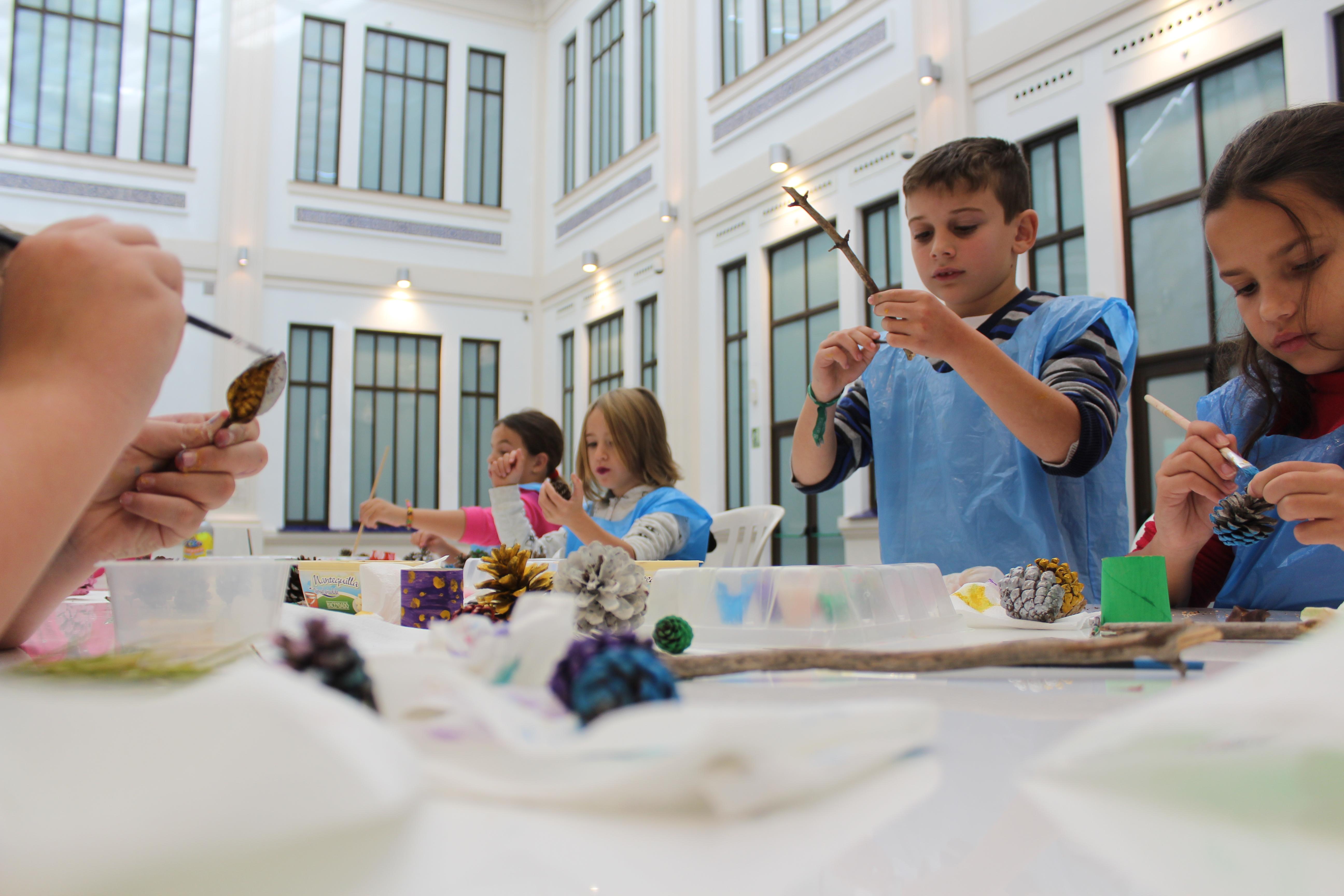 Talleres de Semana Blanca para niños en el Museo Automovilístico y de la Moda