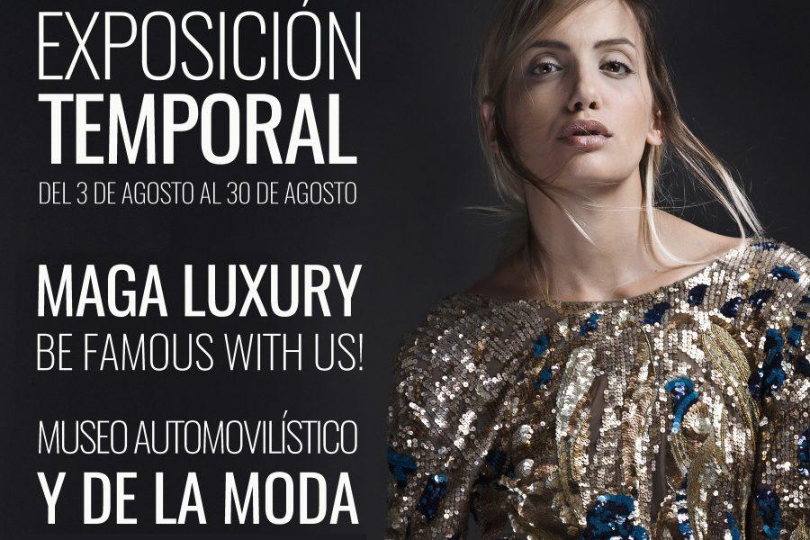 """Descubre """"Maga Luxury"""", la nueva exposición temporal del Museo Automovilístico y de la Moda"""