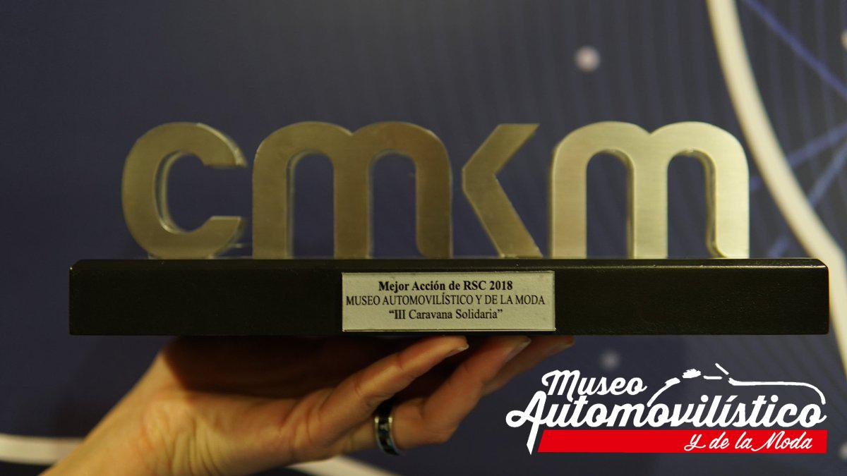 El Museo Automovilístico y de la Moda recibió el Premio a la Mejor Acción de RSC en la X Edición Premios de Marketing Málaga 2018