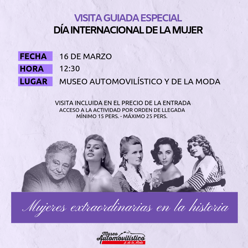 Día Internacional de la Mujer – Visita guiada especial